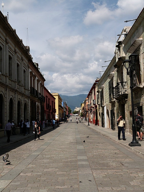 Oaxaca City in Mexico