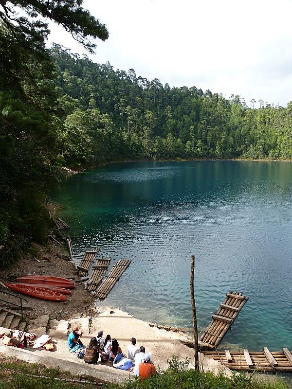 Lagos de Montebello in Chiapas, Mexico