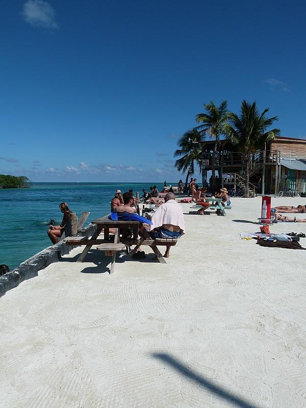 The Split on Caye Caulker, Belize