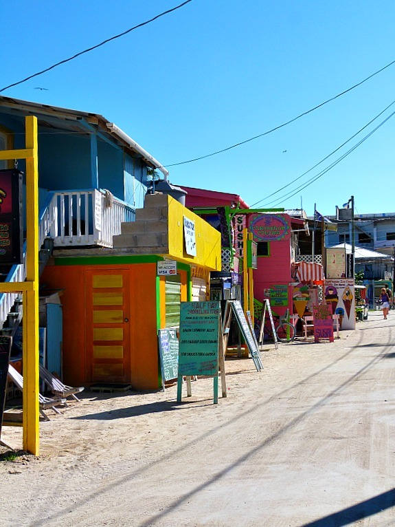 Downtown Caye Caulker, Belize