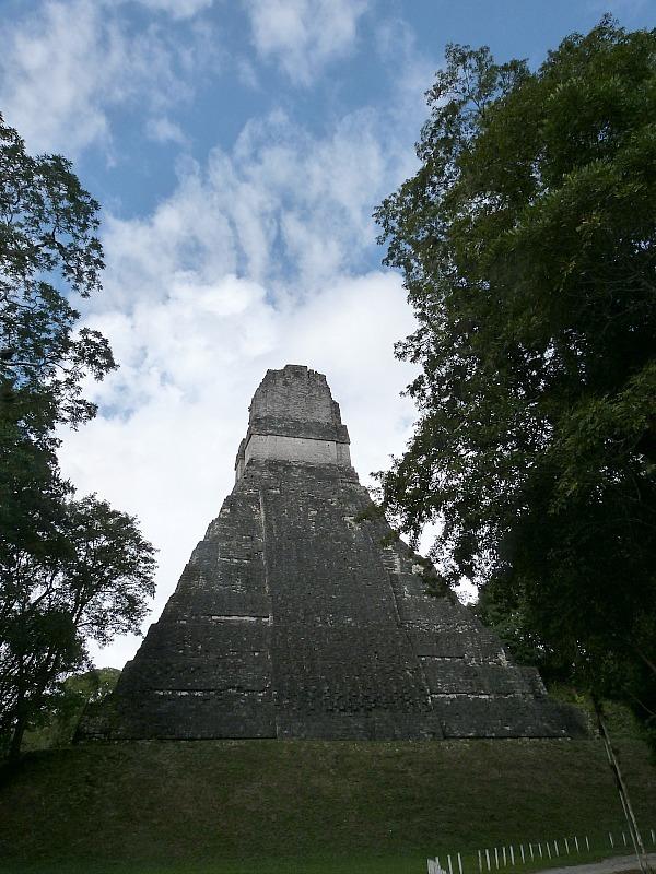 Temple at Tikal, Guatemala