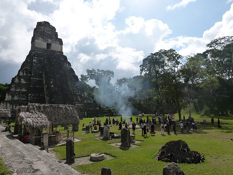 Exploring the Tikal Ruins in Guatemala