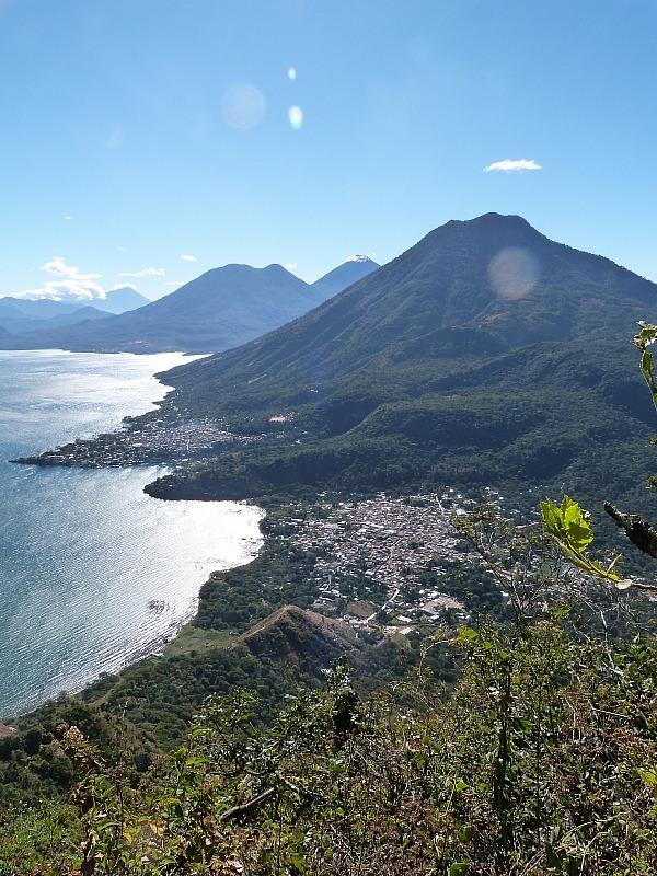 Hiking Indian Nose from San Pedro on Lake Atitlan, Guatemala