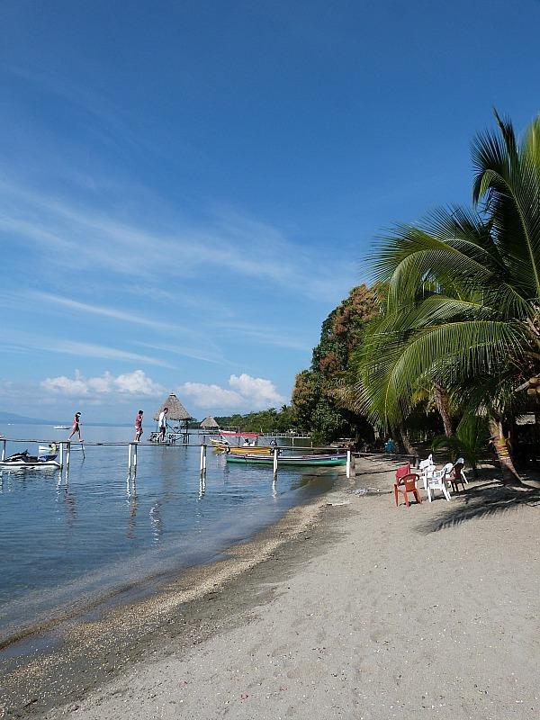 Denny's Beach in the Izabal Region of Guatemala