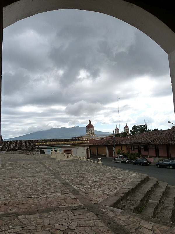 Town Square in Granada, Nicaragua