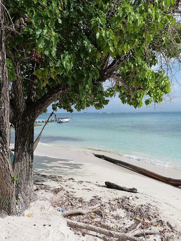 Beach in the San Blas Islands, Panama