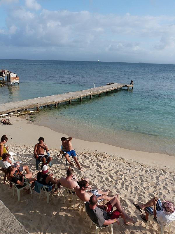 Local island in the San Blas Islands, Panama
