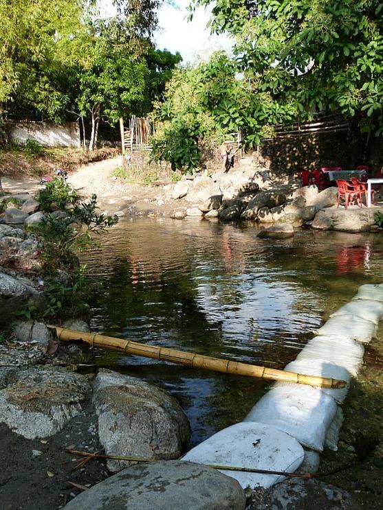 River in Minca, Colombia