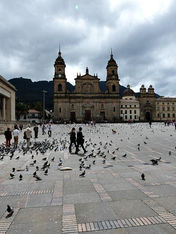 Main Square in Bogota, Colombia