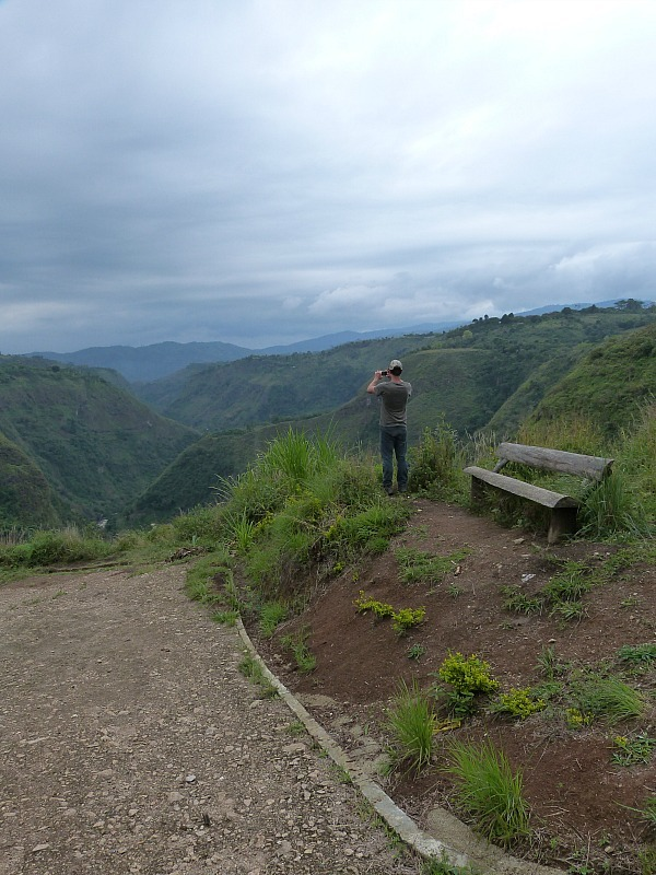 The mountains around San Agustin in the Coffee Region of Colombia