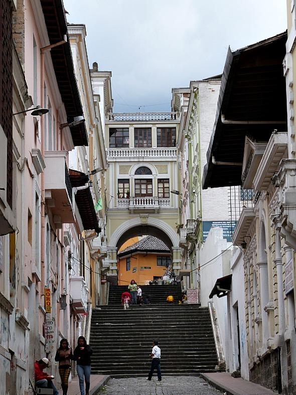 Quito in Ecuador