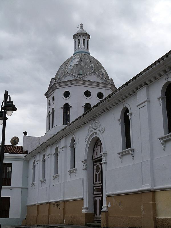 Church in Cuenca, Ecuador