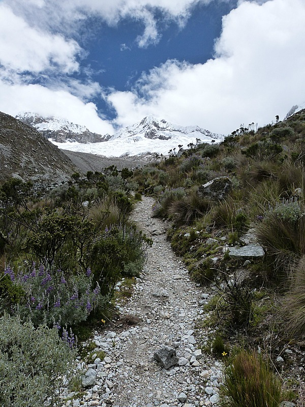 Hike to Laguna 69 in the Cordillera Blanca Mountains of Central Peru