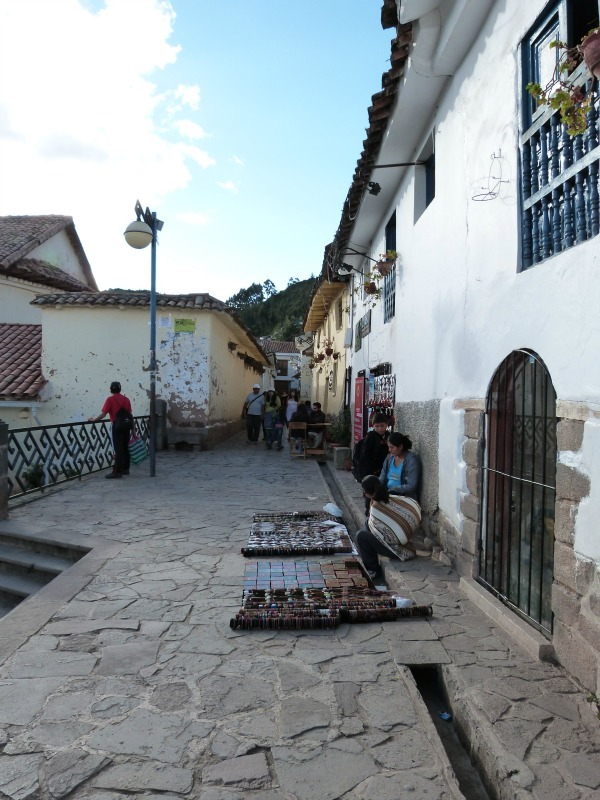 Local market in Cusco, Peru