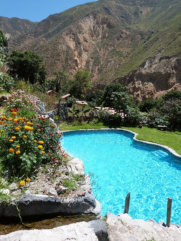 Pool in Colca Canyon, Peru