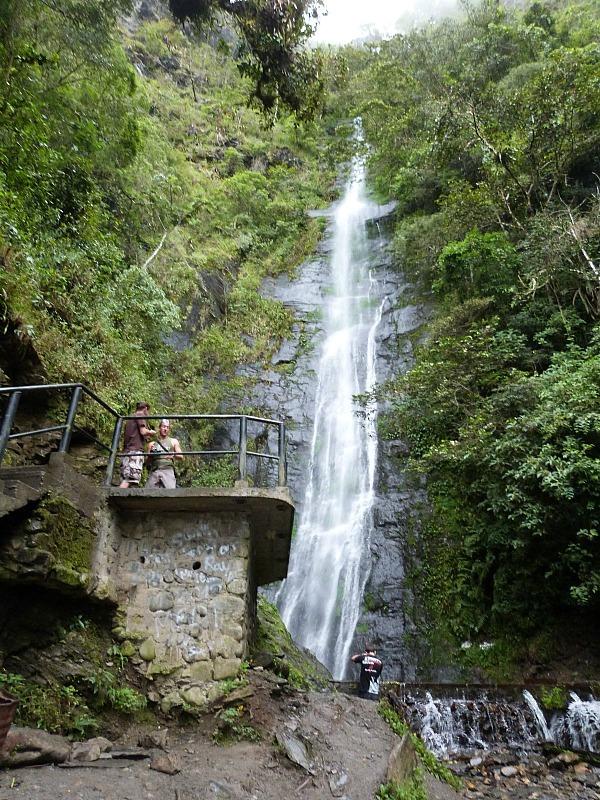 Waterfall in Coroico, Bolivia