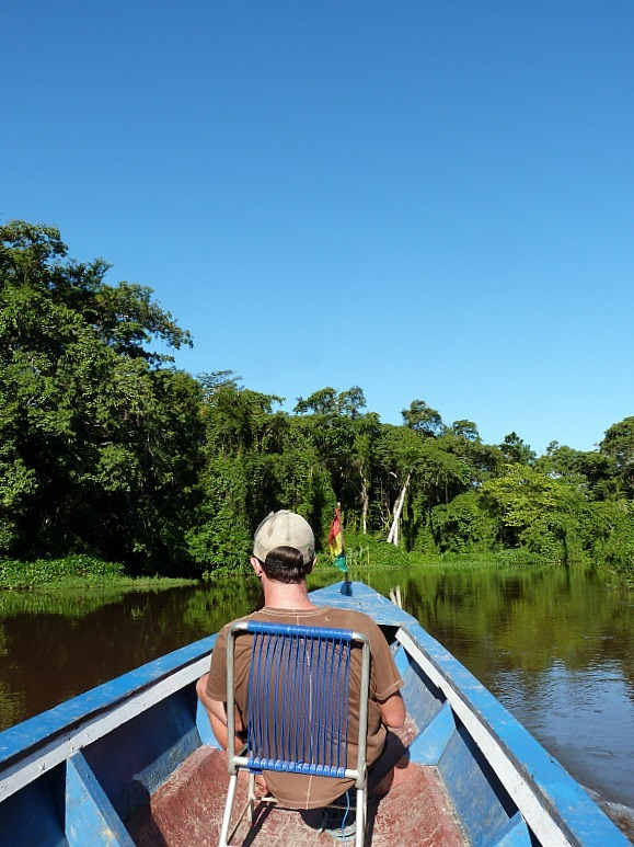 Long Boating in the Amazon Basin of Bolivia