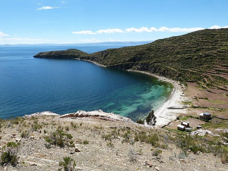 Hiking around Isla del Sol - one of my South America Highlights
