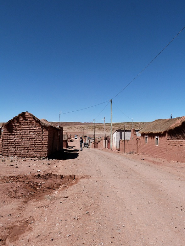 San Antonio de Lipez in south west Bolivia