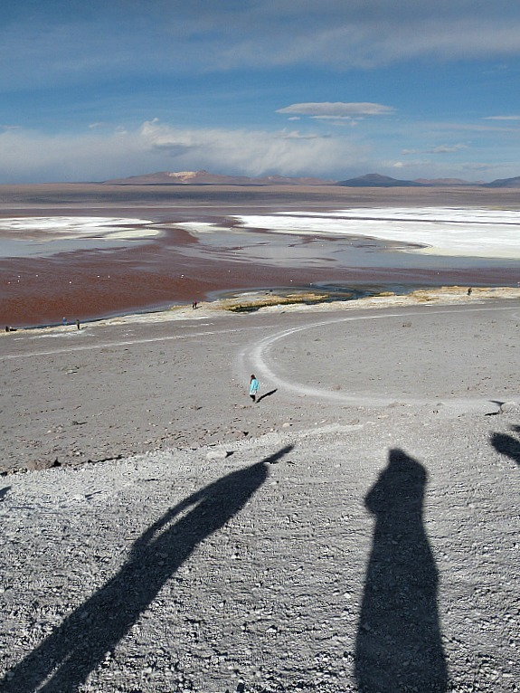 Laguna Colorada in remote South West Bolivia