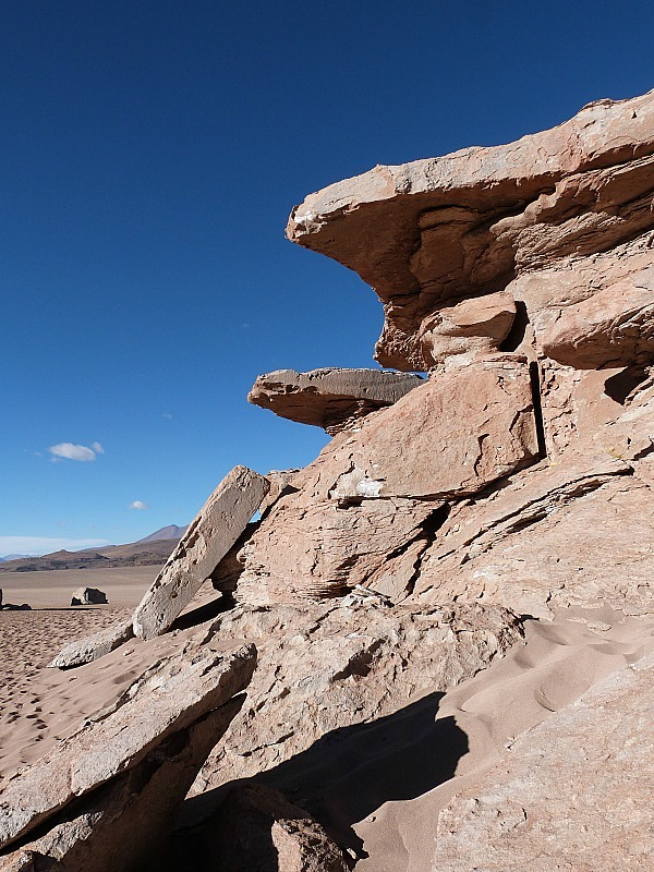 Rock formations in remote South West Bolivia