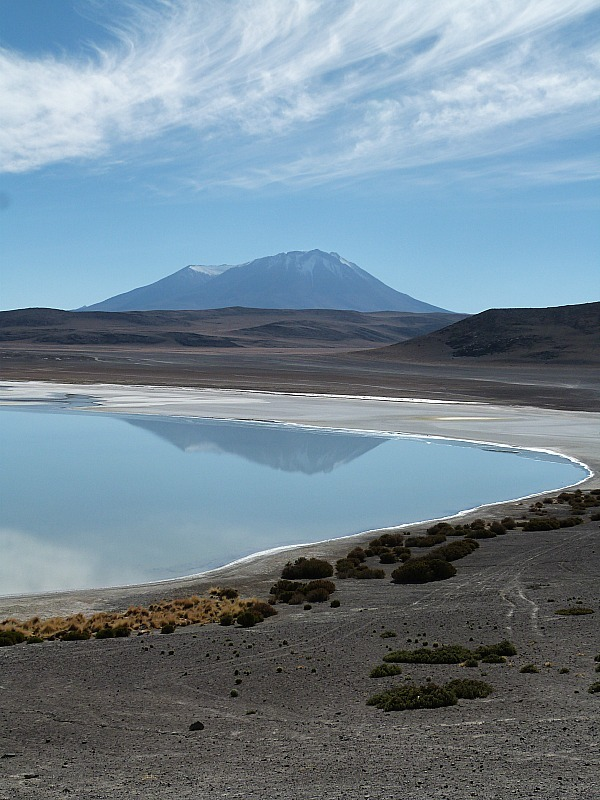 Beautiful lake in remote South West Bolivia