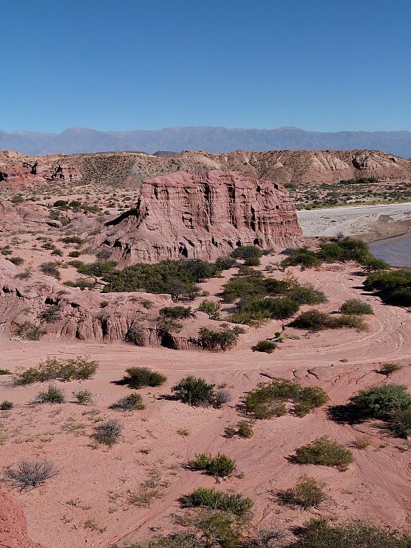 Quebrada de Cafayate near Cafayate in Northern Argentina