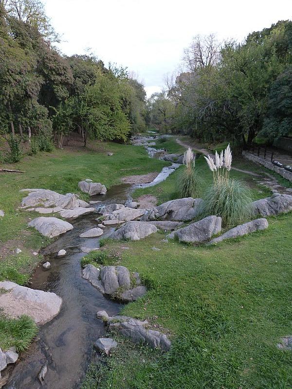 River in Villa General Belgrano in Northern Argentina