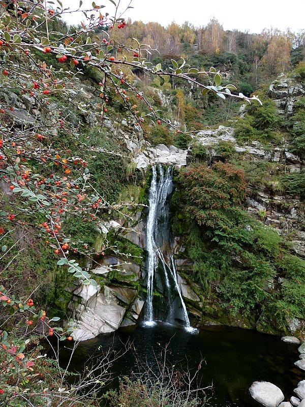 Waterfall in La Cumbrecita, Northern Argentina