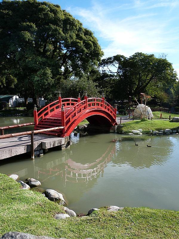 Japanese Garden in Palermo, Buenos Aires, Argentina