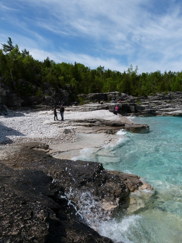 Beach at Bruce Peninsula National Park in Ontario