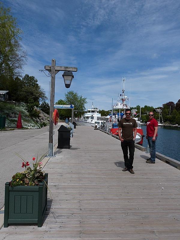 Tobermory Harbour in Ontario