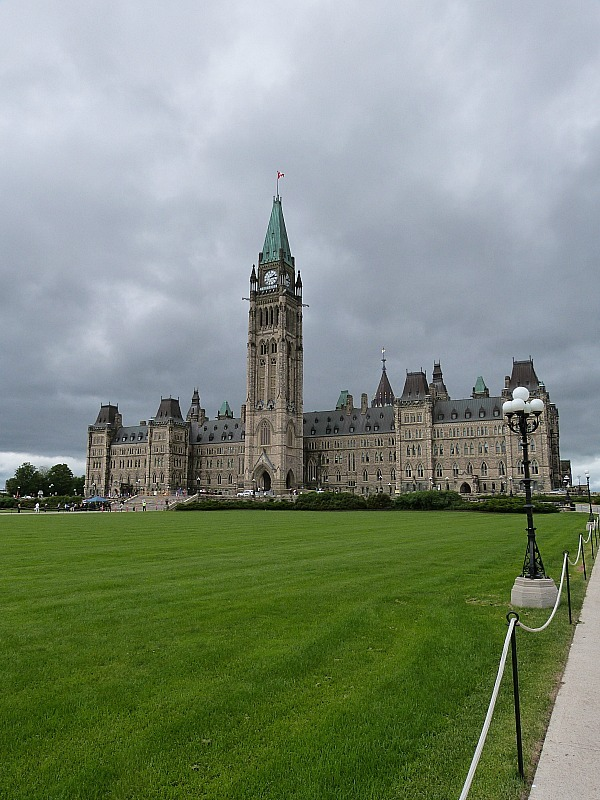 Parliament Buildings in Ottawa, Ontario