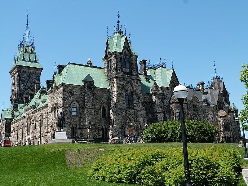 Beautiful building in Ottawa, Ontario