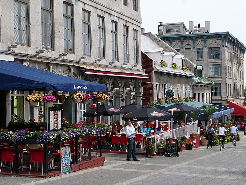 Old Town Montreal in Quebec