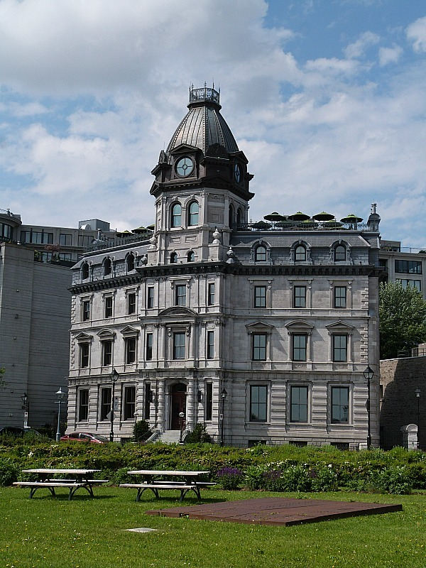 Historic Building in Old Town Montreal, Quebec