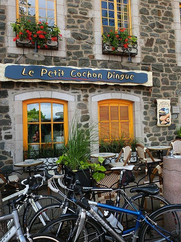 Restaurant in Old Town Quebec City