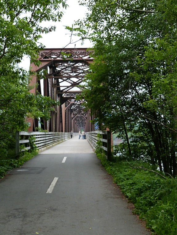 Bridge in Fredericton, New Brunswick