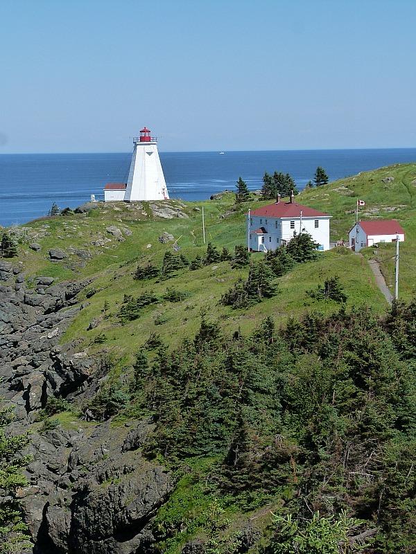 Swallowtail Lighthouse on Grand Manan Island, New Brunswick
