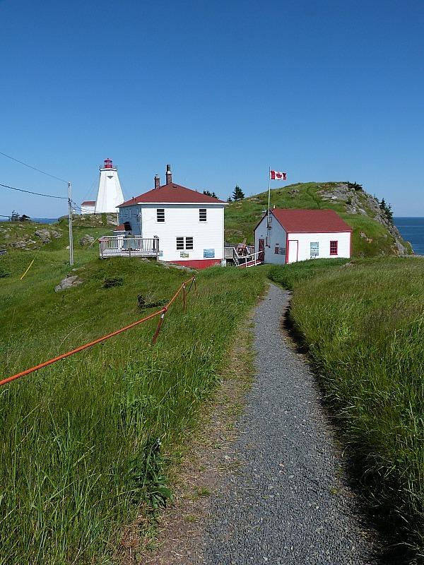 Swallowtail Lighthouse buildings on Grand Manan Island