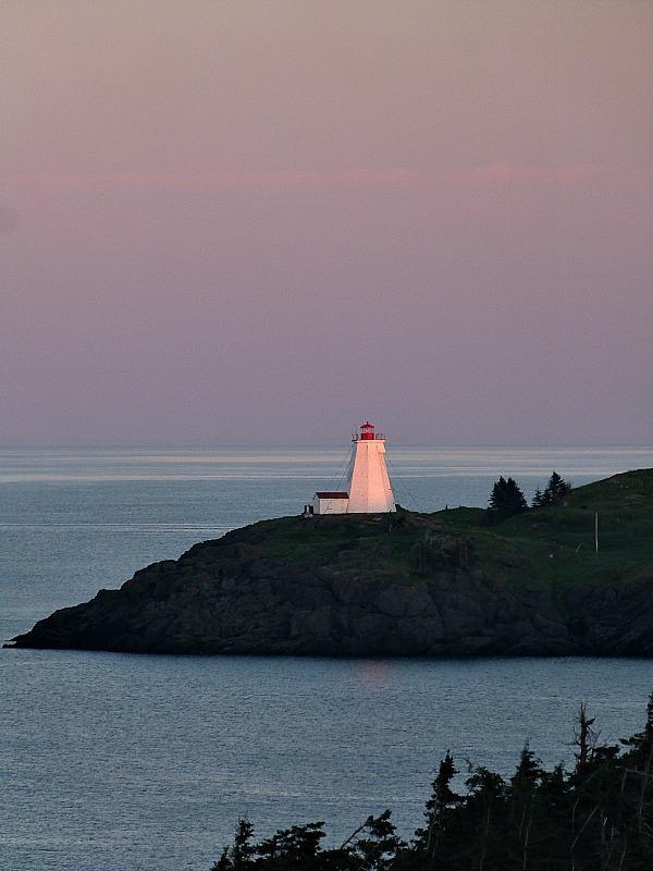 Sunset over Swallowtail Lighthouse on Grand Manan Island