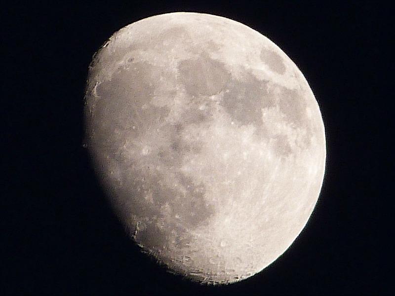 Amazing moon from Grand Manan Island
