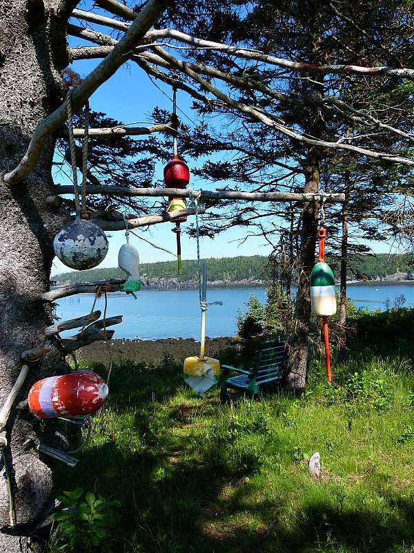 Local art project on Grand Manan Island