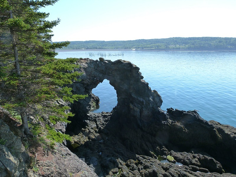 Hole in the Wall on Grand Manan Island