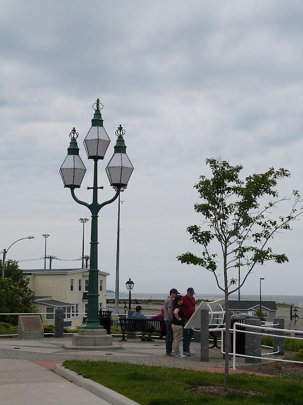 Three Sisters Light in Saint John, New Brunswick