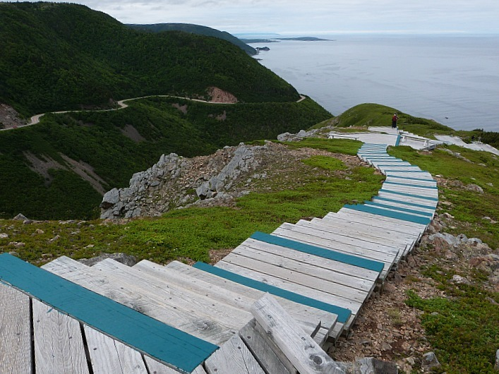 The Skyline trail in Cape Breton Highlands National Park, Nova Scotia
