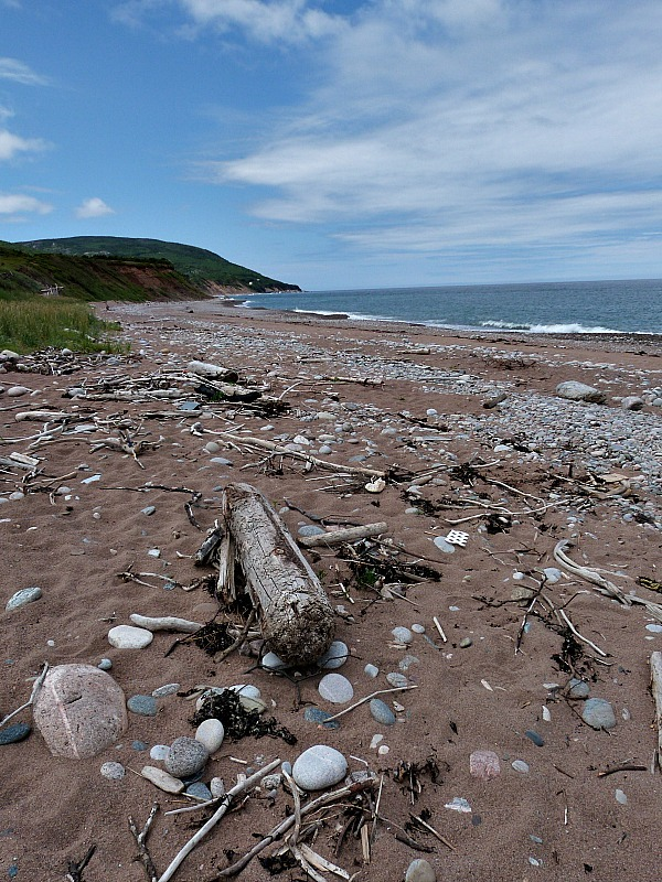 Pleasant Bay in Cape Breton Highlands National Park, Nova Scotia
