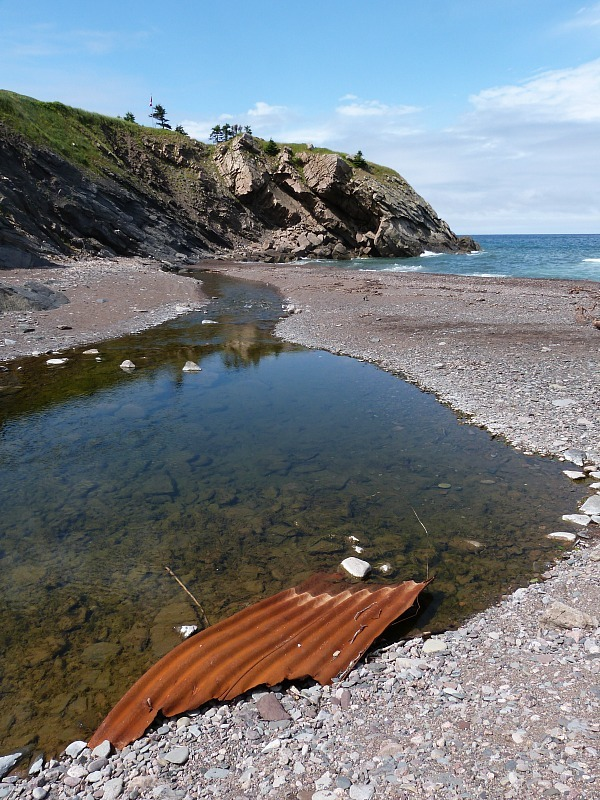 Meat Cove on Cape Breton Island, Nova Scotia