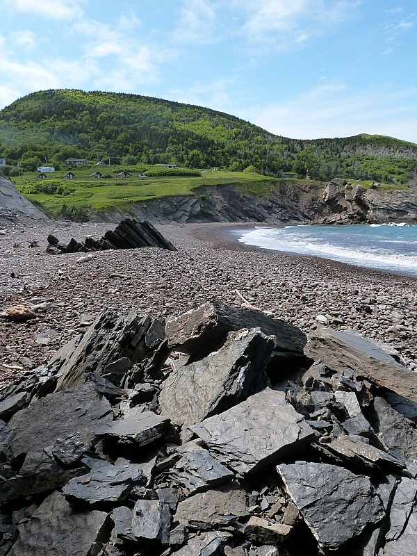 Beautiful Meat Cove on Cape Breton Island, Nova Scotia