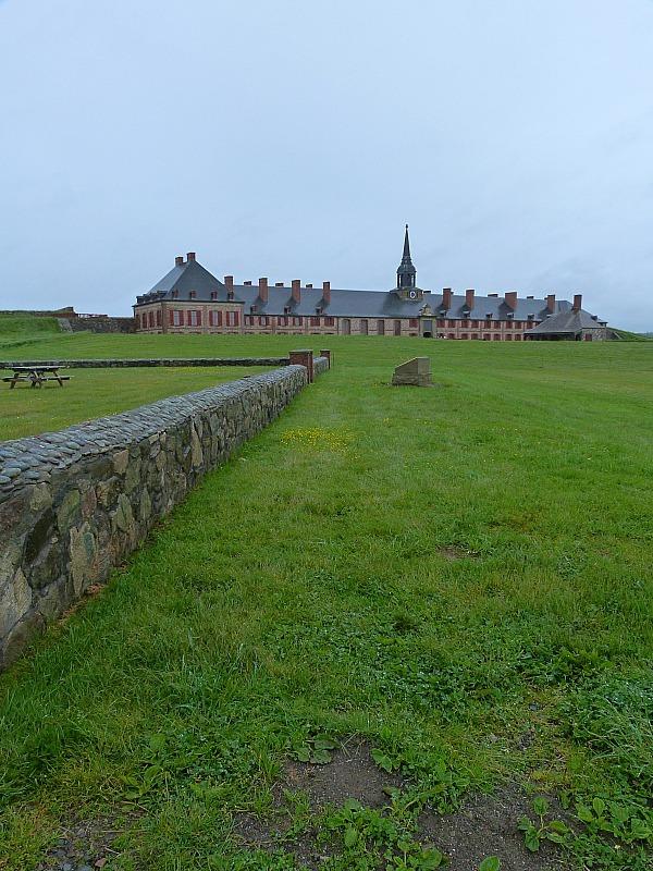 Fortress of Louisbourg on Cape Breton Island, Nova Scotia
